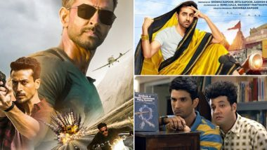 Hrithik Roshan and Tiger Shroff's War Fails To Stop Chhichhore And Dream Girl Run At The Box Office
