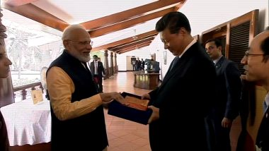 PM Modi, President Xi Jinping Visit Art and Handloom Exhibition in Kovalam, TN
