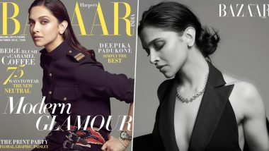 Deepika Padukone's New Photoshoot for Harper's Bazaar India is Equal Parts Sensuous and Charming (View Pics)
