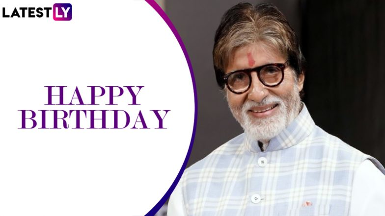 Amitabh Bachchan Birthday Special: From Zanjeer to Paa, 10 Iconic Films of Big B That Prove He's the 'Shahenshah' of Bollywood