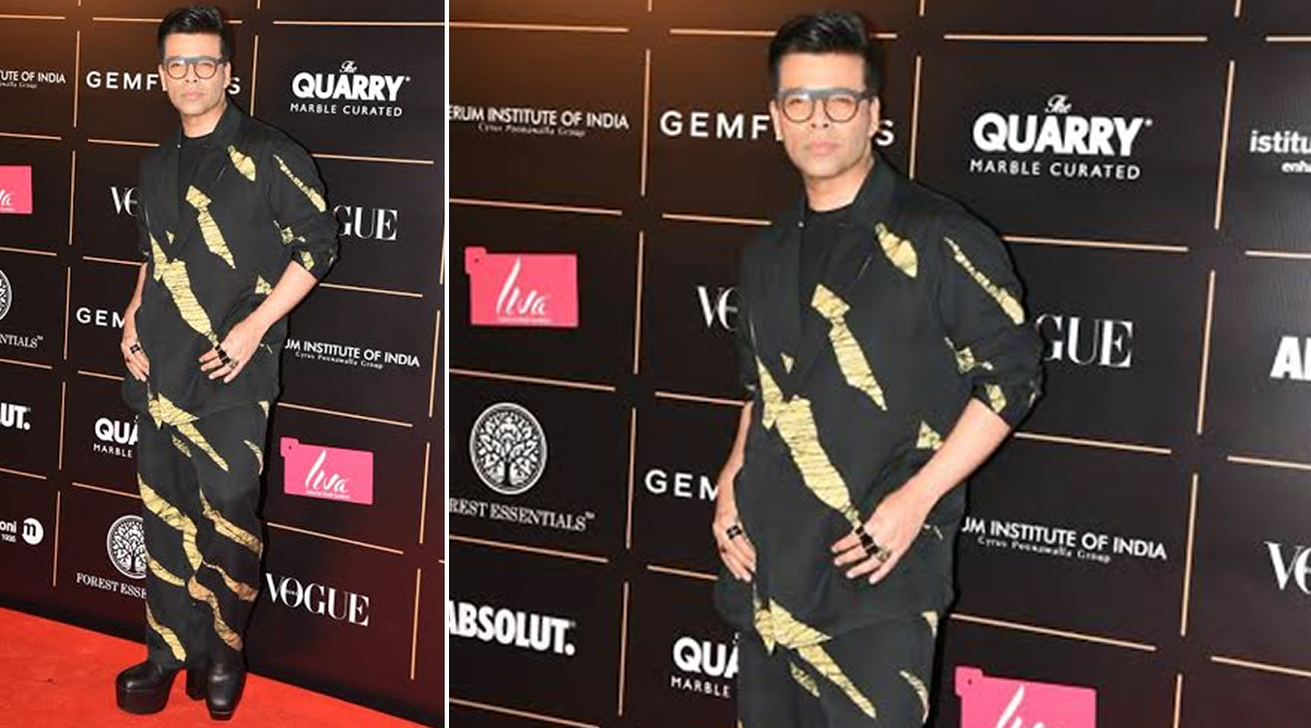 Karan Johar at Vogue Women of the Year. (Photo CreditslYogen Shah)