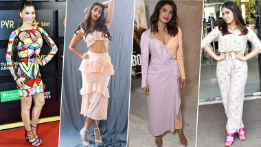 Priyanka Chopra, Pooja Hegde and Bhumi Pednekar Fail the Fashion Test this Week (View Pics)