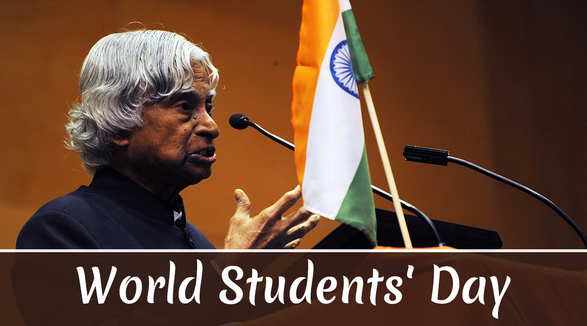 World Students' Day 2019 Wishes: Twitterati Posts Dr APJ Abdul Kalam's Quotes, Images and Messages on His 88th Birth Anniversary