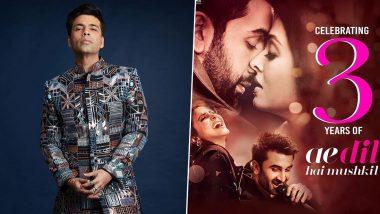 3 Years of Ae Dil Hai Mushkil: Karan Johar Calls This Ranbir Kapoor, Anushka Sharma Film 'Closest to His Heart' (View Pic)