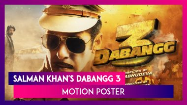 Salman Khan Confirms His Eid 2020 Release Radhe Via Dabangg 3 Motion Poster