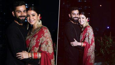 Virat Kohli Keeps Karwa Chauth 2019 Vrat With Wife Anushka Sharma, Sends Internet Into Meltdown (View Adorable Pics)