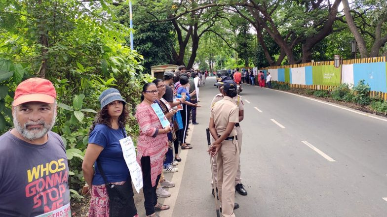 Aarey Tree Felling: Mumbai Police Impose Section 144 Till Tuesday After SC Order For Status Quo at Proposed Mumbai Metro Car Shed