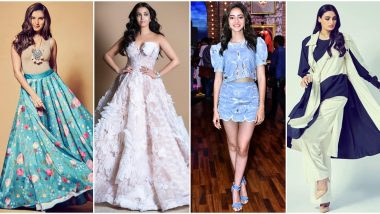 Aishwarya Rai Bachchan, Tara Sutaria and Ananya Panday Set the Fashion Ball Rolling this Week - View Pics
