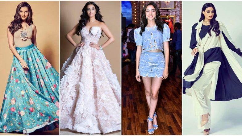 Aishwarya Rai Bachchan, Tara Sutaria and Ananya Panday Set the Fashion Ball Rolling this Week - View Pics