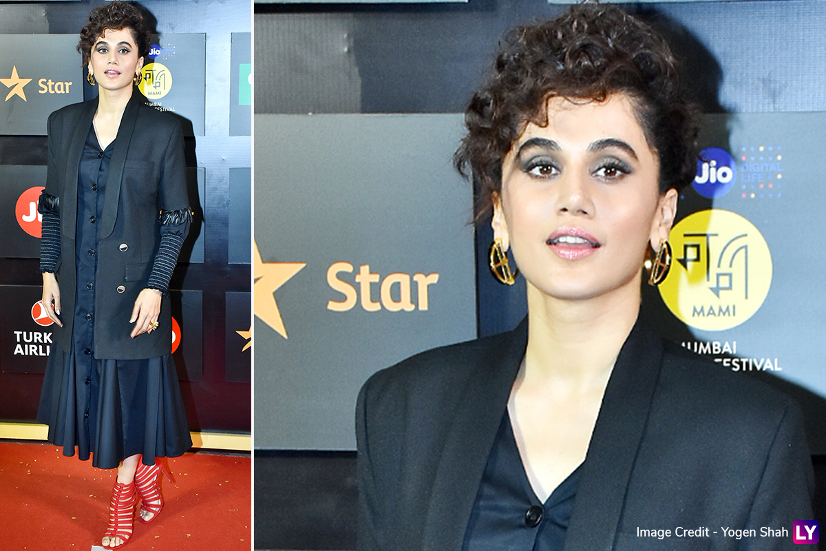 Taapsee Pannu Recalls the Time When She Got Rid of Her Beautiful Curly Hair by Hair Straightening