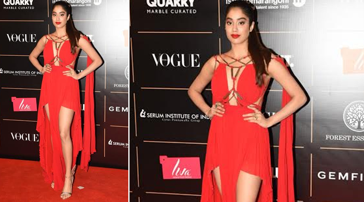 Janhvi Kapoor at Vogue Women of the Year