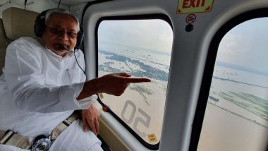 Nitish Kumar Loses Cool at Journalist on Being Quizzed Over Bihar Floods, Hits Back Saying 'What About America?'