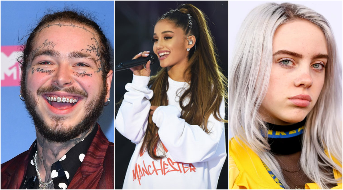 American Music Awards 2019 Nominations List: Post Malone, Ariana Grande and Billie Eilish Lead With Most Nominations