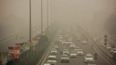 Delhi Air Pollution: Air Quality Dips & Turns Severe in Ghaziabad Area, Moderate Fog Around Many Places Lowers Visibility