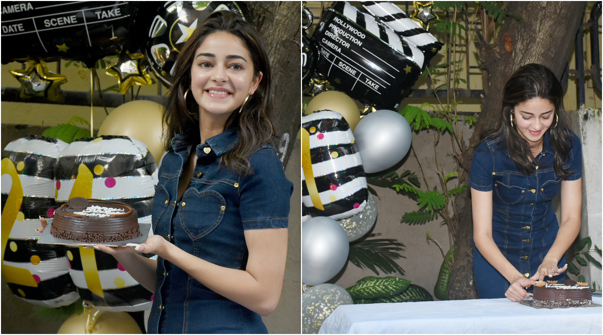 Ananya Panday is All Smiles as She Celebrates Her 21st Birthday With the Media (See Pics)