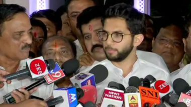 Aaditya Thackeray Meets Maharashtra Governor Amid BJP-Shiv Sena Power Sharing Tussle
