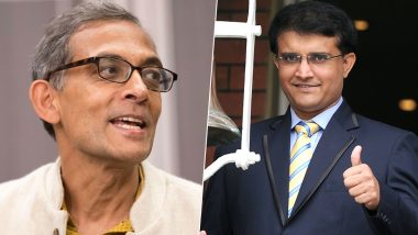 Sourav Ganguly Congratulates Abhijit Banerjee for Winning Nobel Prize in Economics, Says 'The Achievement Is Big and Terrific'