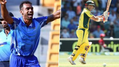 Cricket Week Recap: From Abhimanyu Mithun's Fabulous Hat-Trick to David Warner's 1st T20I Hundred, A Look at Finest Individual Performances