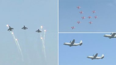 Air Force Day 2019: Wing Commander Abhinandan Varthaman, Balakot Air Strike Heroes Participate in Flypast - Watch Video