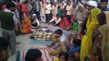 Uttar Pradesh: 7 Dead after Overspeeding Bus Runs Over Sleeping Pilgrims in Bulandshahr