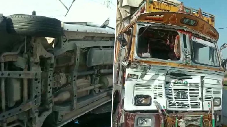 Car in Bikram Singh Majithia's Convoy Collides With Truck on Highway in Moga, One Killed