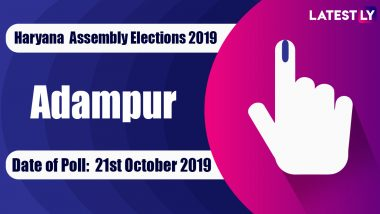 Adampur Vidhan Sabha Constituency in Haryana: Sitting MLA, Candidates For Assembly Elections 2019, Results And Winners