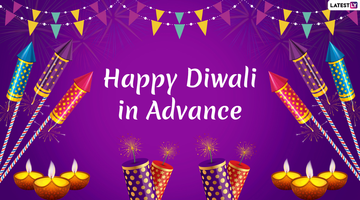 Advance Diwali 2019 Greetings in Hindi: WhatsApp Stickers, GIF Image Messages, SMS, Quotes to Send Happy Deepavali Wishes to Family and Friends