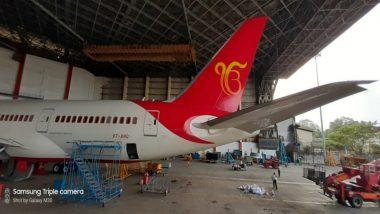 Air India Puts Sikh Symbol On its Jet to Mark 550th Birth Anniversary of Shri Guru Nanak Dev