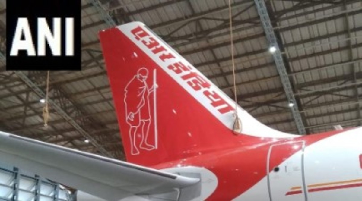 Gandhi Jayanti 2019: Air India Paints Mahatma Gandhi's Picture on Airbus A320 to Mark His 150th Birth Anniversary