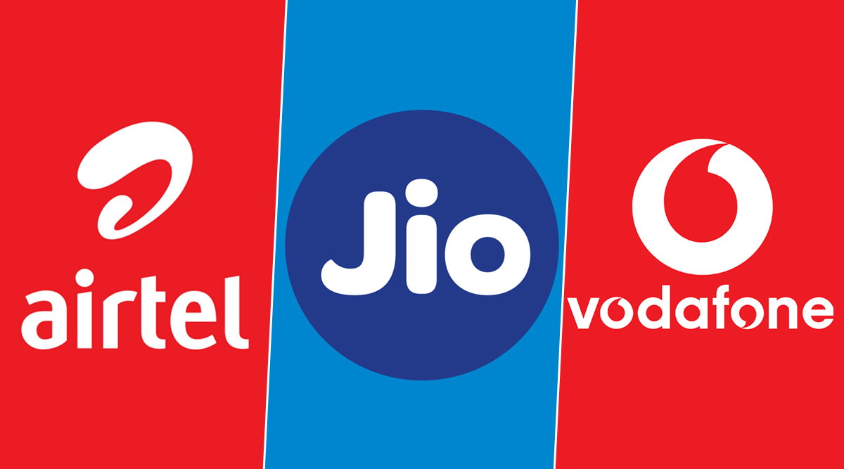 Jio, Airtel India And Vodafone Engage in Full-Blown War on Twitter Over Reliance's 6 Paise Per Minute Charge, See Tweets