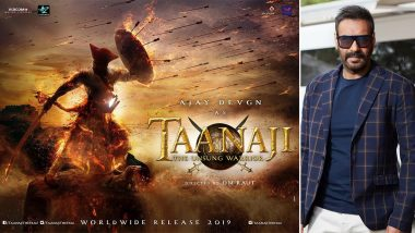 Ajay Devgn to Unveil the Trailer of His Period Drama, Tanhaji: The Unsung Warrior on THIS Day!