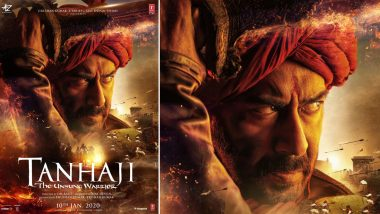 Tanhaji: The Unsung Warrior First Look: Ajay Devgn as Fierce Maratha Warrior Subedar Tanaji Malusare Is Impressive (View Pic)