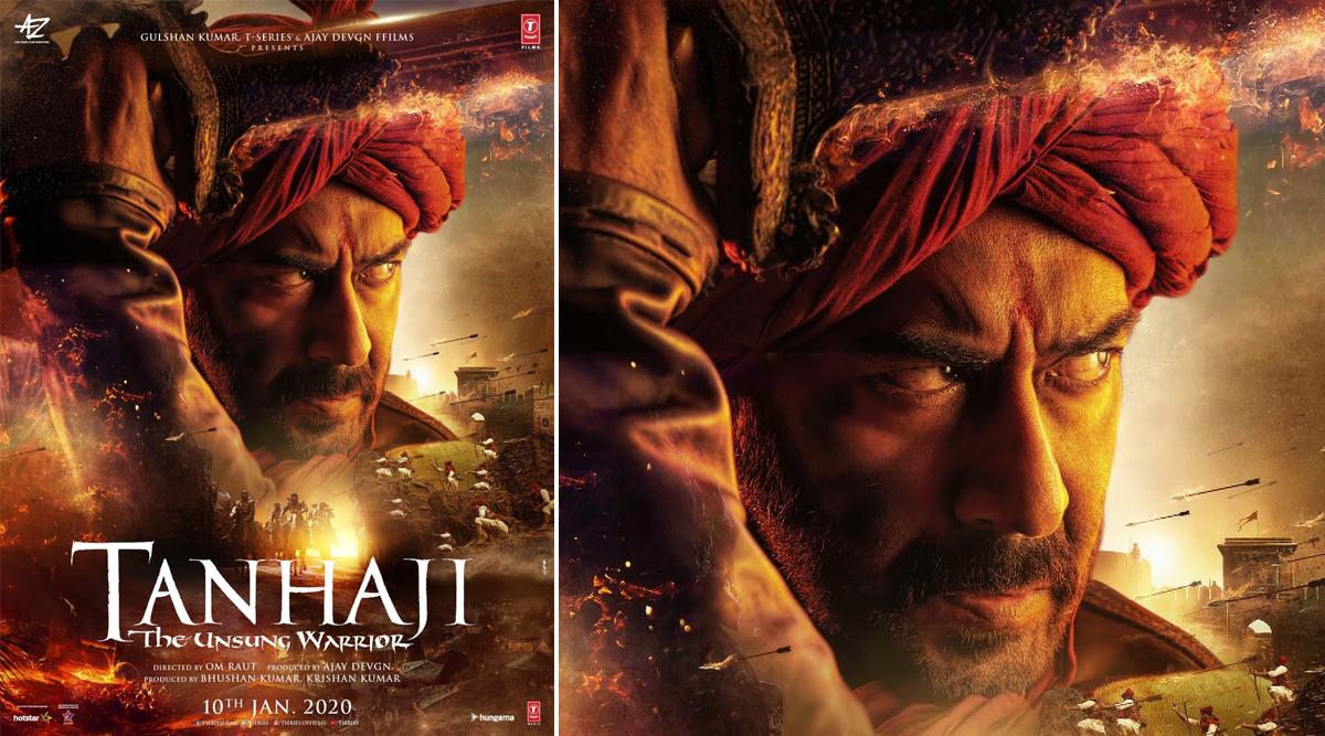 Tanhaji: The Unsung Warrior First Look: Ajay Devgn as Fierce Maratha Warrior Subedar Tanaji Malusare Is Impressive (View Pic)