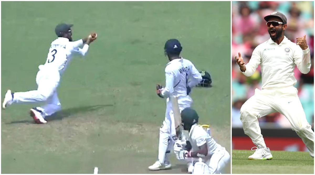 Ajinkya Rahane Takes Stunning Catch at First Slip to Dismiss Temba Bavuma on Day 4 of 2nd India vs South Africa Test Match (Watch Video)