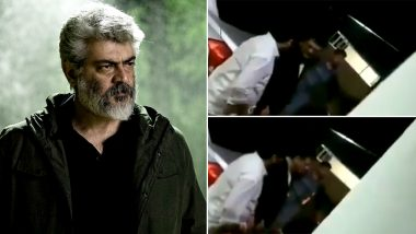 Thala 60: Ajith Kumar's Black Hair Look in His Upcoming Video Gets LEAKED? (Watch Video)