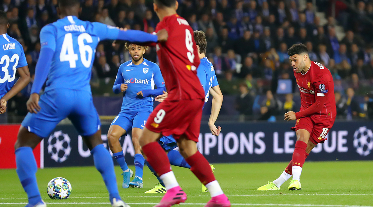 Alex Oxlade-Chamberlain Brace Fires Liverpool to 4–1 Victory Over Genk in Champions League 2019–20