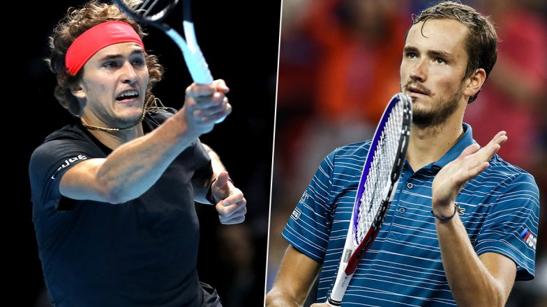 Shanghai Masters 2019: Alexander Zverev and Daniil Medvedev to Clash in the Finals of the Tournament