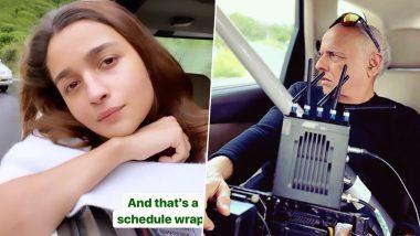 Sadak 2: Alia Bhatt Wraps the Ooty Schedule, Shares an Adorable No Makeup Pic