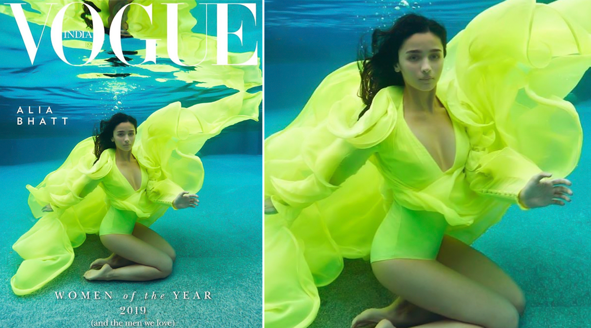 Alia Bhatt Takes Dip Underwater in This Fabulous Picture for Vogue India and We Can't Breathe