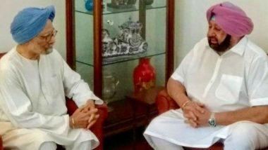 Dr Manmohan Singh Accepts Invite to Visit Kartarpur Gurdwara Along With Captain Amarinder Singh, PM Narendra Modi And President Ram Nath Kovind Also Invited