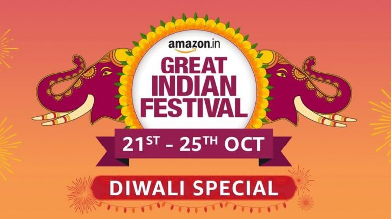 Amazon Great Indian Festival Sale 2019: Diwali Special Sale on Smartphones, TVs, Large Appliances, Electronics & Accessories Starting October 21