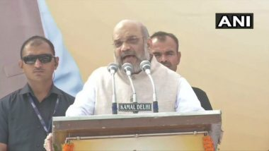 Amit Shah Urges People to Shun Single-Use Plastic During 'Sankalp Yatra' in Delhi