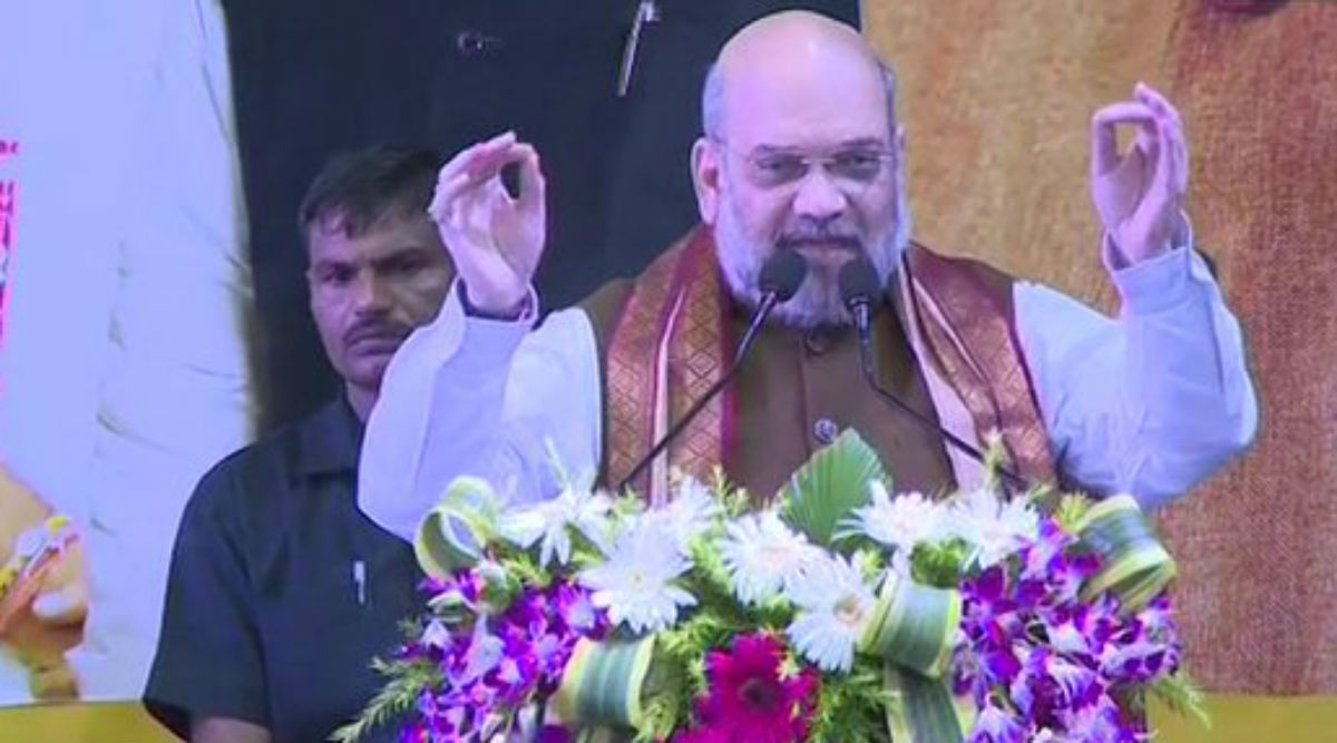 'Article 370 and West Bengal Have Special Connection', Says Amit Shah at Kolkata Rally; Home Minister Invokes Syama Prasad Mookerjee
