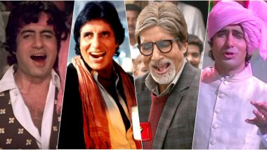 Amitabh Bachchan Evergreen Songs That Is 'Jaan' of Every Party and a Must-Play on His 77th Birthday (Watch Videos)