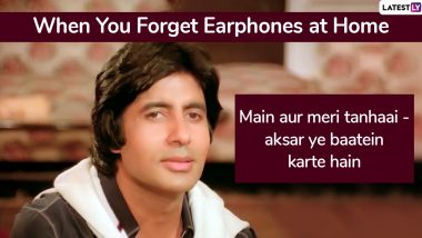 Amitabh Bachchan's Iconic Dialogues That Can be Aptly Used in Daily Life Situations Including Birthdays!