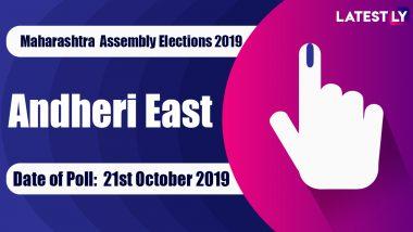 Andheri East Vidhan Sabha Constituency Election Result 2019 in Maharashtra: Ramesh Latke of Shiv Sena Wins MLA Seat in Assembly Polls