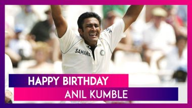 Anil Kumble Birthday Special: Look at 5 Unforgettable Spells by The Indian Great