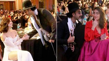 Ranveer Singh's Pictures With Anushka Sharma and Kareena Kapoor Khan at Elle Beauty Awards 2019 Might Just Turn Into Memes!