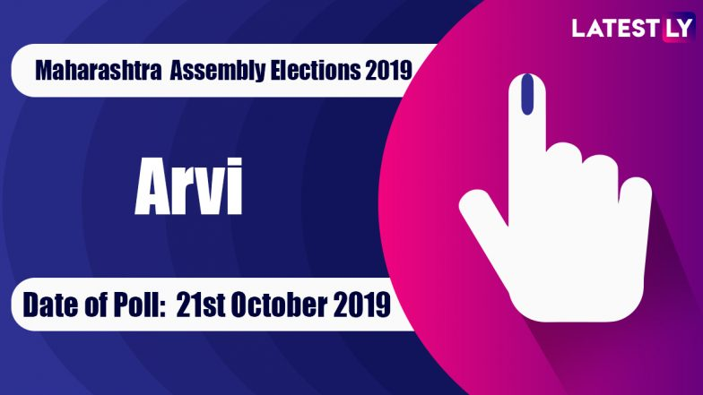 Arvi Vidhan Sabha Constituency in Maharashtra: Sitting MLA, Candidates For Assembly Elections 2019, Results And Winners