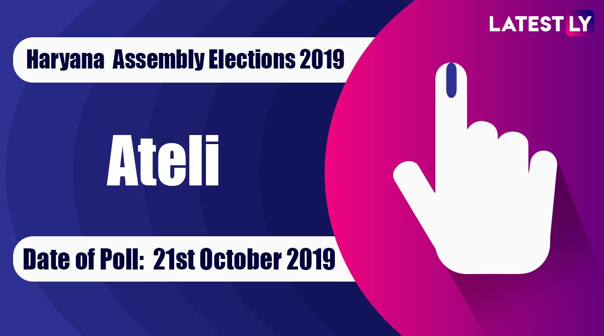 Ateli Vidhan Sabha Constituency Election Result 2019 in Haryana: Sitaram of BJP Wins MLA Seat in Assembly Polls